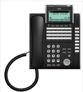 NEC SV8100 24-Button Telephone With Sidecar