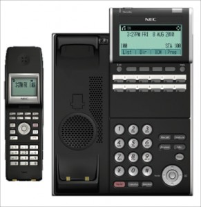 NEC SV8100 12 Button Phone with Bluetooth Handset